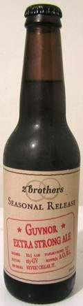 2 Brothers Guvnor Extra Strong Ale