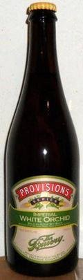 The Bruery Provisions Series: Imperial White Orchid - Belgian Strong Ale