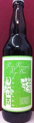 Epic Rio�s Rompin� Rye Beer - Specialty Grain