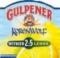 Gulpener Korenwolf Lemon 2.5 - Belgian White (Witbier)