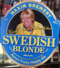 Maxim Swedish Blonde (Cask)