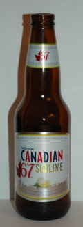 Molson Canadian 67 Sublime - Fruit Beer/Radler