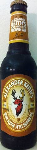 Alexander Keiths Nova Scotia Style Brown Ale