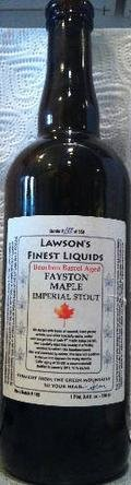 Lawson�s Finest Bourbon Barrel Aged Fayston Maple Imperial Stout - Imperial Stout