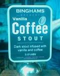 Binghams Vanilla Coffee Stout