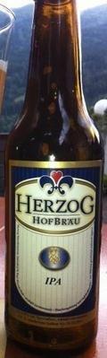 Herzog Hofbr�u IPA - India Pale Ale (IPA)