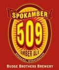 Budge Brothers Spokamber 509 Amber Ale