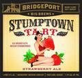 BridgePort Stumptown Tart 2011 (Strawberry)