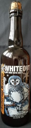 Anchorage Whiteout Wit Bier - Belgian White (Witbier)