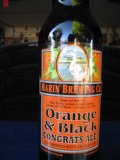 Marin Orange & Black Congrats Ale!