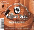 H�ffner Br�u Jubil�umsbier - Dunkel/Tmav�