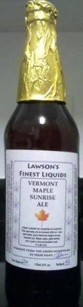 Lawson�s Finest Vermont Maple Sunrise Ale - Specialty Grain