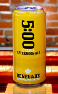 Renegade 5:00 Afternoon Ale