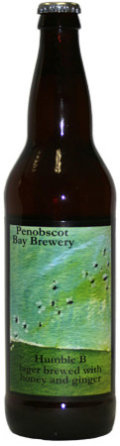 Penobscot Bay Humble B Honey Ginger Lager