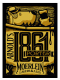 Moerlein Arnold�s 1861 Porter - Porter