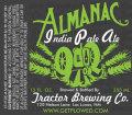 Tractor Brewing Almanac IPA
