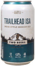 Two Beers Trailhead ISA - Session IPA