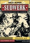 Sudwerk Gold Miner Golden Ale - Golden Ale/Blond Ale