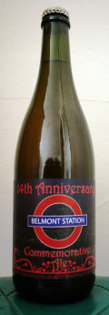 Upright 14th Anniversary Belmont Station Commemorative Ale