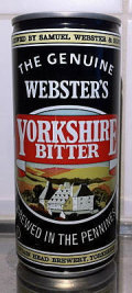 Websters Yorkshire Bitter  - Bitter