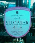 Thornbridge Hall Summer Ale - Golden Ale/Blond Ale