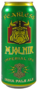 Fearless Mjolnir Imperial IPA - Imperial/Double IPA
