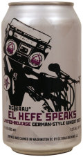 DC Brau El Hefe Speaks - German Hefeweizen