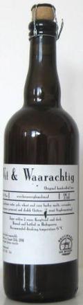 De Molen Wit & Waarachtig - Belgian White (Witbier)