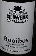 Bierwerk Rooibos