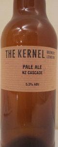 The Kernel Pale Ale NZ Cascade