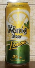 K�nig Beer Lemon