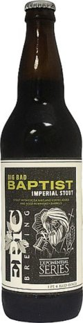 Epic Big Bad Baptist  - Imperial Stout