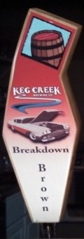 Keg Creek Breakdown Brown Ale