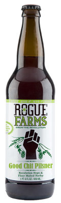 Rogue Farms Good Chit Pilsner - Pilsener