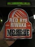 Mordue Red Rye Riwaka