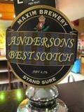 Maxim Andersons Best Scotch