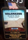 Marstons / Bells Brewery Kalamazoo Black Silk - Porter