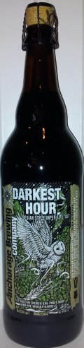 Anchorage Darkest Hour Belgian Imperial Stout  - Imperial Stout