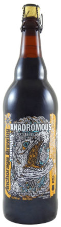 Anchorage Anadromous Belgian Black Bier  - Sour/Wild Ale