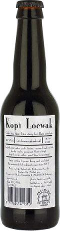 De Molen Kopi Loewak Coffee Stout (2011-2013)