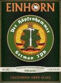 Einhorn German IPA Der Hopfenhammer - India Pale Ale (IPA)
