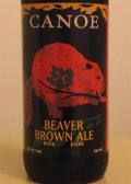 Canoe Dark Ale (formerly Beaver Brown Ale)
