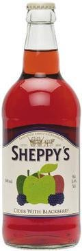 Sheppy�s Cider With Blackberry (Bottle)