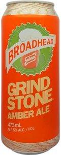 Broadhead Grindstone Amber