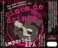 Iron Horse Cinco de Drinco Imperial IPA - Imperial/Double IPA