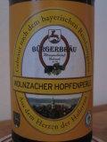 B�rgerbr�u Wolnzacher Hopfenperle - Pilsener