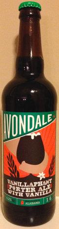 Avondale Vanillaphant Porter