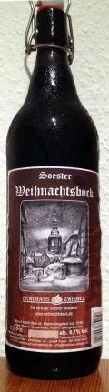 Zwiebel Soester Weihnachtsbock - Dunkler Bock