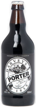 Harveys Porter /  Tom Paine Original Old Porter (Bottle)