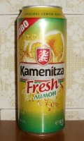 Kamenitza Fresh Limon - Fruit Beer